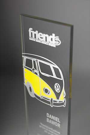 FRIENDS TRAINING GRATITUDE AWARD